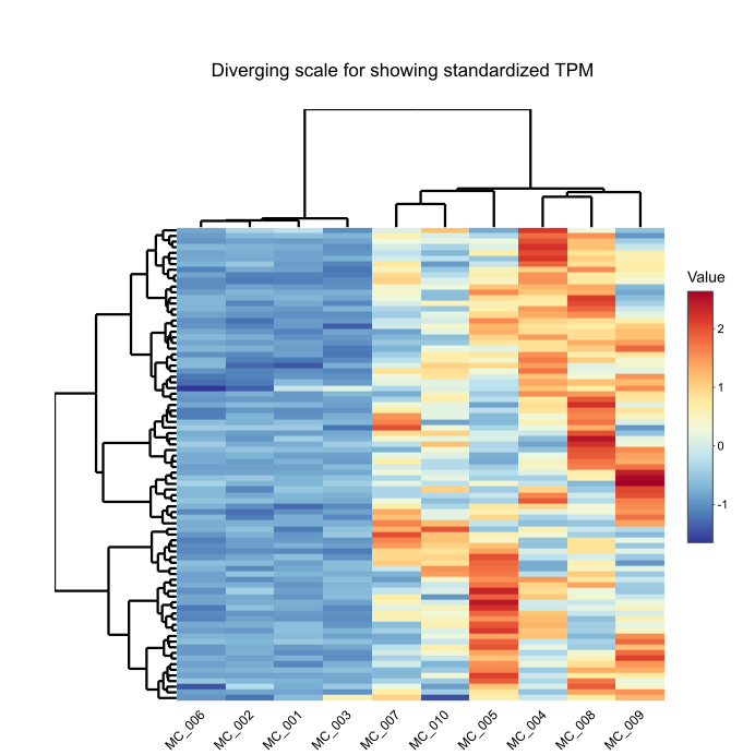 Dos and don'ts for a heatmap color scale - BioTuring's Blog